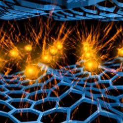 A potential way to make graphene superconducting